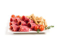 Spanish ham Stock Photography