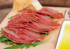 Spanish ham hamon Stock Photography