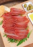 Spanish ham hamon Royalty Free Stock Photography