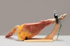 Spanish ham. Jamon Serrano Stock Photo