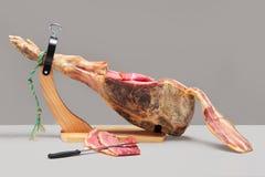 Spanish ham. Jamon Serrano Royalty Free Stock Image
