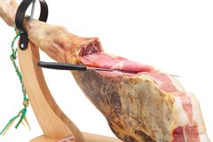 Spanish ham. Jamon Serrano Royalty Free Stock Photography