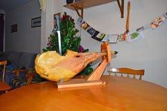 Spanish Ham royalty free stock photos