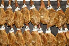 Spanish hamon Royalty Free Stock Images