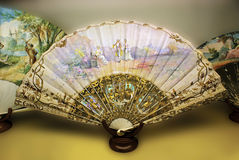 Spanish hand fan Stock Photos