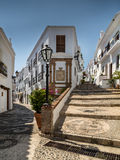 Spanish hill village Royalty Free Stock Photography