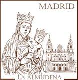 Spanish holiday Almudena Royalty Free Stock Photography