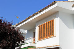 Spanish holiday apartment Royalty Free Stock Images