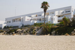 Spanish holidays apartments Royalty Free Stock Image