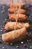 Spanish homemade croquettes Royalty Free Stock Photography