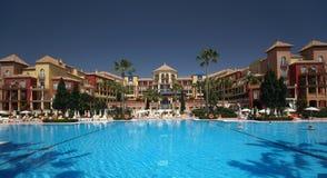 Spanish Hotel Stock Photography