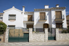 Spanish house Stock Image