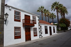 Spanish House in La Palma Royalty Free Stock Image