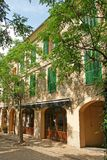 Spanish house Majorca Royalty Free Stock Image