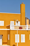 Spanish House On Sale. A beautiful and colorful Spanish house on sale in Malaga, Spain Royalty Free Stock Images