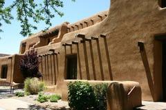 Spanish House in Santa Fe Stock Photography
