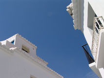Spanish houses royalty free stock images