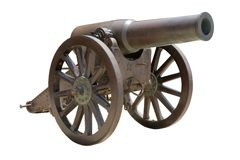 Spanish howitzer cannon Stock Images