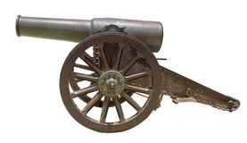 Spanish howitzer cannon Stock Photos