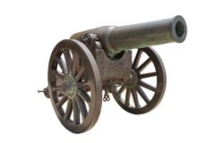 Spanish howitzer cannon Royalty Free Stock Photos