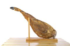 Spanish iberian ham. Royalty Free Stock Image