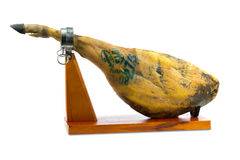 Spanish iberian ham Royalty Free Stock Images