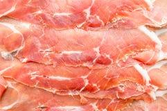 Spanish jamon, dry-cured ham Royalty Free Stock Photo