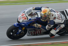Spanish Jorge Lorenzo of Fiat Yamaha Team Royalty Free Stock Images