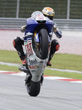 Spanish Jorge Lorenzo of Fiat Yamaha Team Royalty Free Stock Photo