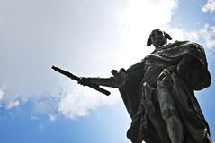 Spanish King Carlos or Charles IV Monument Royalty Free Stock Photography