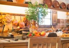 Spanish kitchen. Stock Image