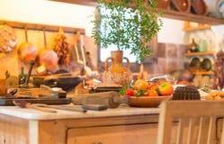 Spanish kitchen. Stock Photos