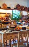 Spanish kitchen. Royalty Free Stock Photography