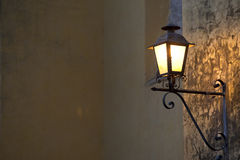 Spanish Lamp Stock Photography