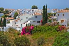 Spanish landscape. Nerja, Costa del Sol, Spain Stock Photo
