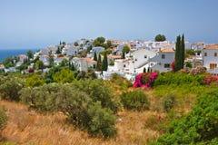 Spanish landscape. Nerja, Costa del Sol, Spain Stock Image