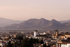 Spanish Landscape. With mountains Royalty Free Stock Photography