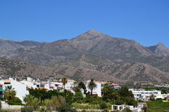 Spanish landscape - Nerja, Costa del Sol Royalty Free Stock Photo