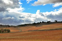 Spanish Landscape Royalty Free Stock Images