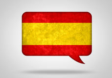 Spanish language stock illustration