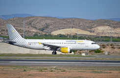 Spanish Low Cost Airline Vueling Stock Photography