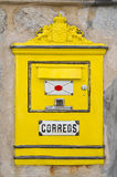 Spanish Mailbox Royalty Free Stock Photo