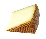 Spanish manchego cheese Stock Images
