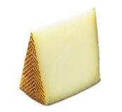 Spanish manchego cheese Royalty Free Stock Photos