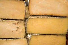 Spanish manchego cheese Royalty Free Stock Image