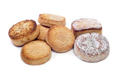 Spanish mantecados and polvorones Stock Images