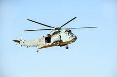Spanish Marines Helicopter Royalty Free Stock Image