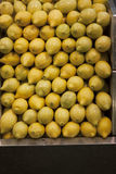 Spanish Market lemons Royalty Free Stock Photography