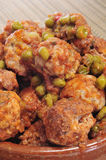 Spanish meatballs Royalty Free Stock Photos