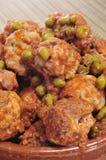 Spanish meatballs Royalty Free Stock Photos